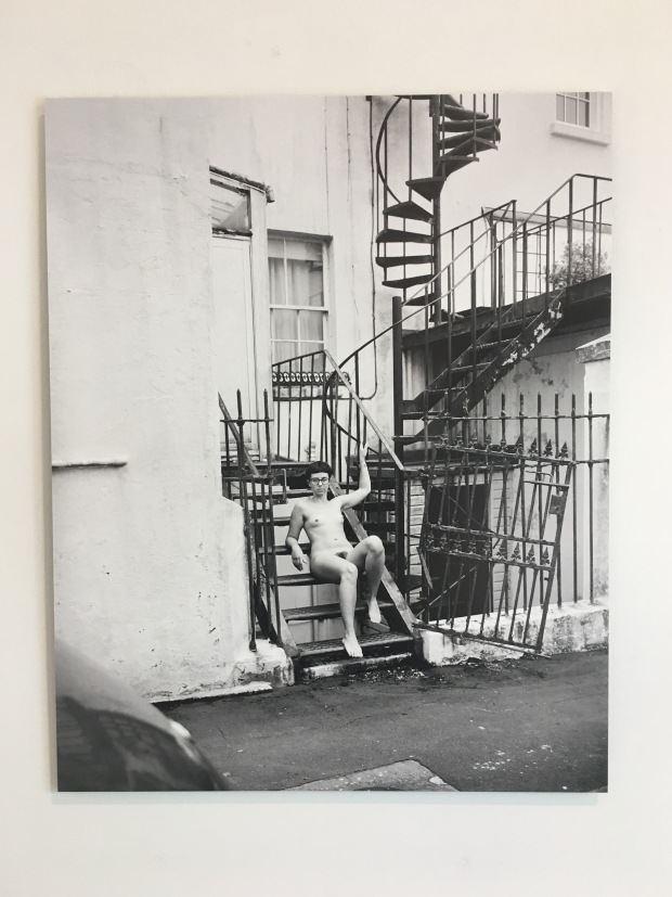 Image of a gender non-conforming person in Brighton by Bharat Sikka, as part of the Brighton Photo Biennial