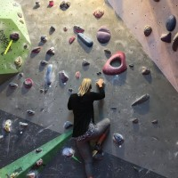 Top French climber setting routes for Boulder Brighton's fourth birthday