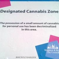 'NON' DESIGNATED CANNABIS ZONES